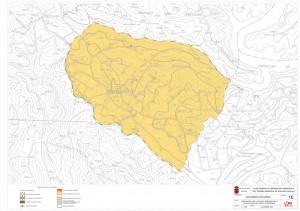 Plano de la segunda fase de los lagos del serrano